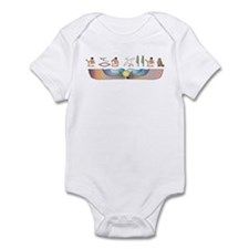 Curl Hieroglyphs Infant Bodysuit