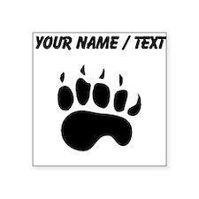 Bear Paw Silhouette (Custom) Sticker
