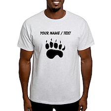 Bear Paw Silhouette (Custom) T-Shirt