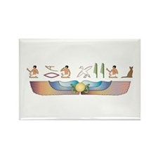 Abyssinian Hieroglyphs Rectangle Magnet