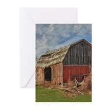 Old Barn 1 Greeting Cards (Pk of 20)