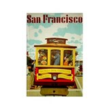 San Francisco Rectangle Magnet (10 pack)
