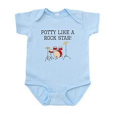 Potty Like A Rock Star Body Suit