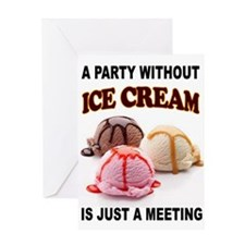 ICE CREAM Greeting Cards