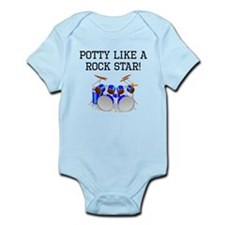 Potty Like A Rock Star Body Suit