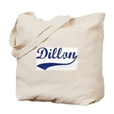Dillon - vintage (blue) Tote Bag