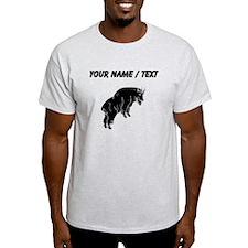 Mountain Goat Silhouette (Custom) T-Shirt