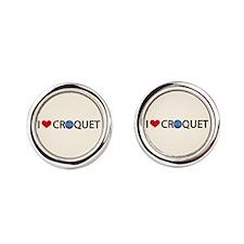 00-iheartcroquet-button.png Round Cufflinks