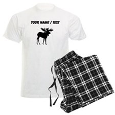 Moose Silhouette (Custom) Pajamas
