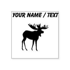 Moose Silhouette (Custom) Sticker