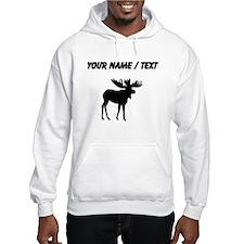 Moose Silhouette (Custom) Hoodie