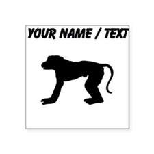 Baboon Silhouette (Custom) Sticker