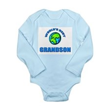 Cute I love my granddad Long Sleeve Infant Bodysuit