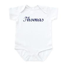 Thomas - vintage (blue) Infant Bodysuit