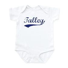 Talley - vintage (blue) Infant Bodysuit