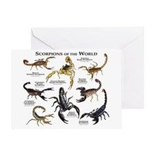 Scorpions of the World Greeting Card