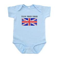 Custom Distressed United Kingdom Flag Body Suit