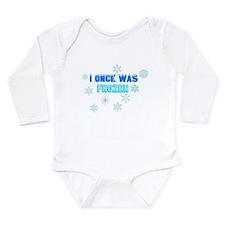 Unique Adoptive Long Sleeve Infant Bodysuit
