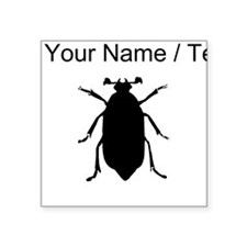 Beetle Silhouette (Custom) Sticker