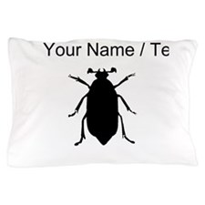 Beetle Silhouette (Custom) Pillow Case