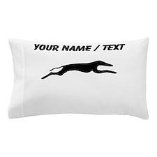 Greyhound Silhouette (Custom) Pillow Case