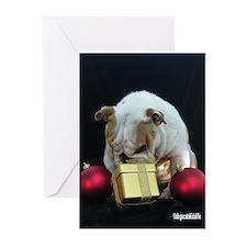Cute Funny animal christmas Greeting Cards (Pk of 20)