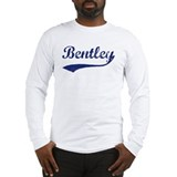 Bentley - vintage (blue) Long Sleeve T-Shirt