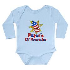 Papou's Little Firecracker Body Suit