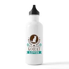 Korat Cat Lover Water Bottle