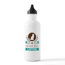 Devon Rex Cat Water Bottle