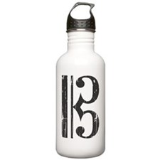 Distressed Alto Clef C Water Bottle