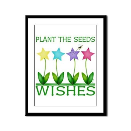 Wishes Framed Panel Print