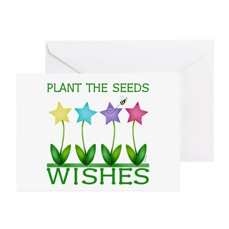Wishes Greeting Cards (Pk of 10)