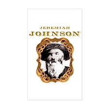 Jeremiah Johnson Rectangle Decal