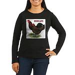 Red Caps Women's Long Sleeve Dark T-Shirt