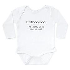 Funny Ducks Long Sleeve Infant Bodysuit