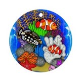 TROPICAL FISH Ornament (Round)