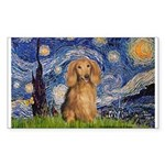 Starry / Doxie (LH-Sable) Sticker (Rectangle)