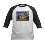Starry / Doxie (LH-Sable) Kids Baseball Jersey