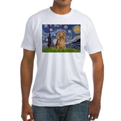 Starry / Doxie (LH-Sable) Fitted T-Shirt