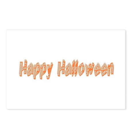 Happy Halloween Postcards (Package of 8)