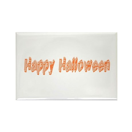 Happy Halloween Rectangle Magnet (100 pack)