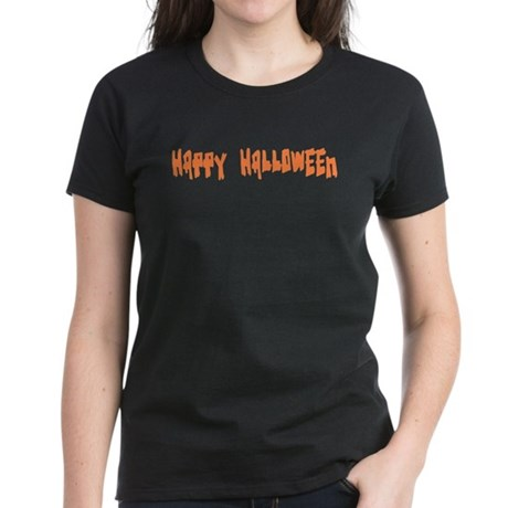 Happy Halloween Women's Dark T-Shirt