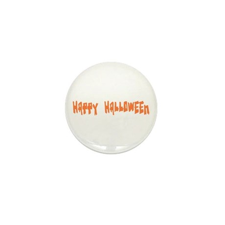 Happy Halloween Mini Button (100 pack)
