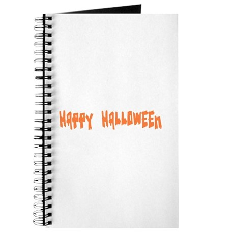 Happy Halloween Journal