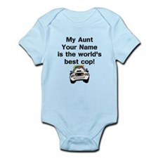 My Aunt Is The Worlds Best Cop (Custom) Body Suit