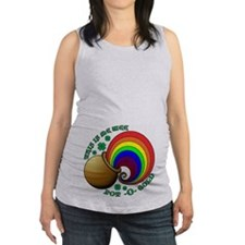 Me Wee Pot O Gold Maternity Tank Top