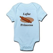 Lefse Princess Infant Bodysuit
