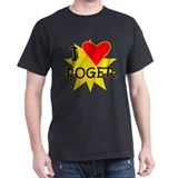 I Love Roger Tennis T-Shirt