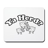 Resden Ya Herd? Sheep Mousepad